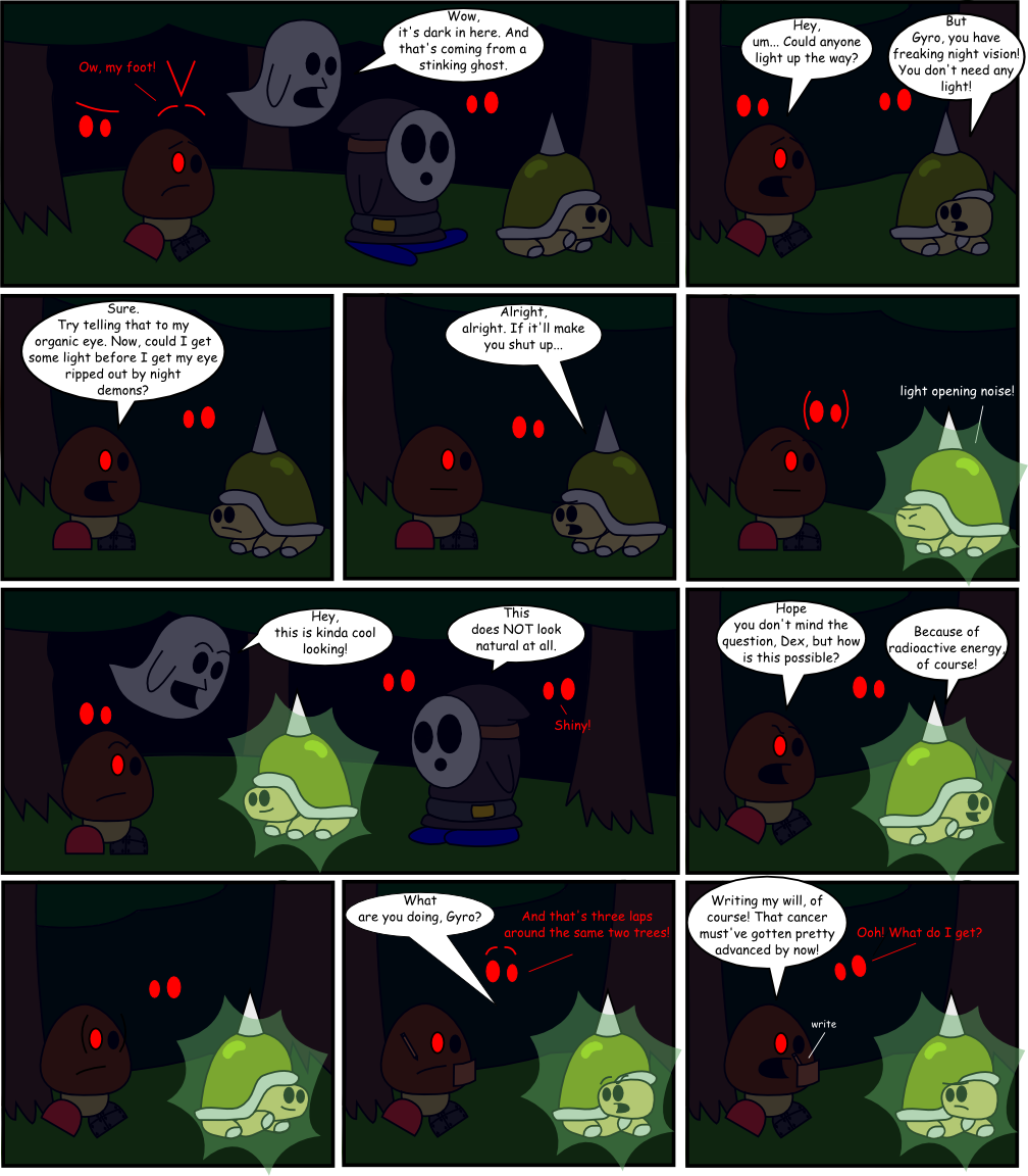 Page 6: Dark Light